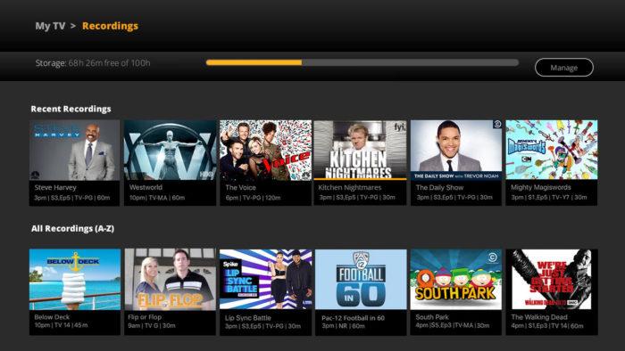 Sling TV DVR